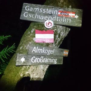 Ennser Hütte über'n Danzersteig – Gamsstein – Gschwendtalm